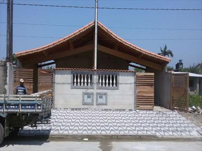 Ref.: 463 - Casa Em Mongagua, No Bairro Jardim Praia Grande - 2 Dormitórios