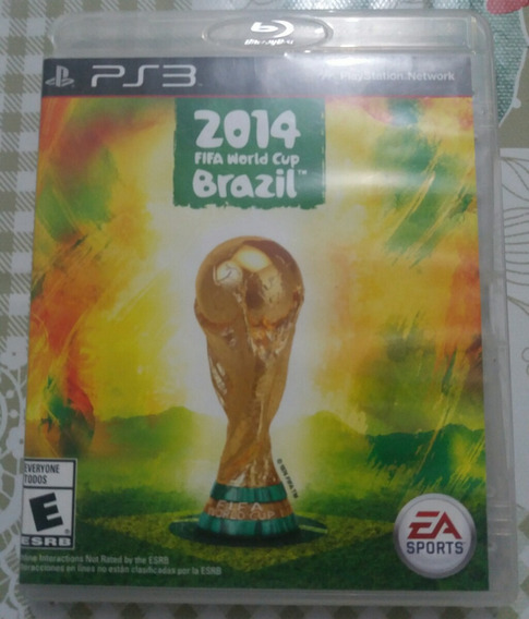 Fifa World Cup Brazil 2014 Ps3 Mídia Física