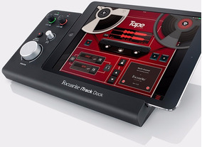Interface De Áudio Focusrite Itrack Dock