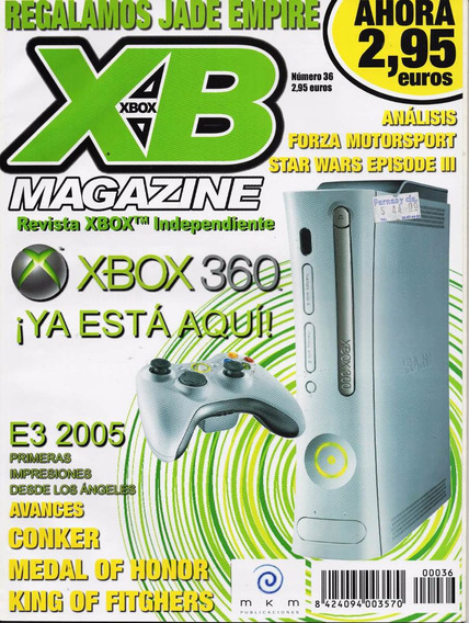 X Box Magazine - X Box 360 - Avances Conker - Star Wars Iii