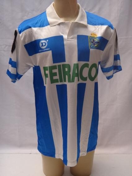 Camisa De Futebol Do Deportivo La Coruna Dellerba #10 - Mc13