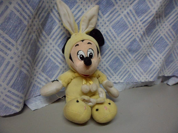 Pelucia Disney Mickey Usado 25 Cm Altura