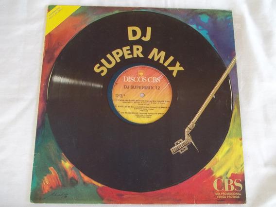 Lp Vinil Dj Super Mix 12 Especial Para Djs Ótimo Estado