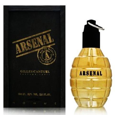 Perfume Arsenal Gold Homme 100 Ml - Lacrado - Selo Adipec