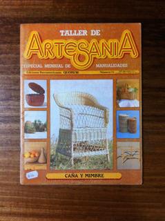 Fasciculo Taller Artesania Nº15 Caña Y Mimbre Antiguo 1985