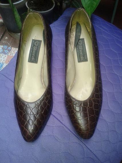 Zapatos De Cuero Forrados..excelente Calidad.
