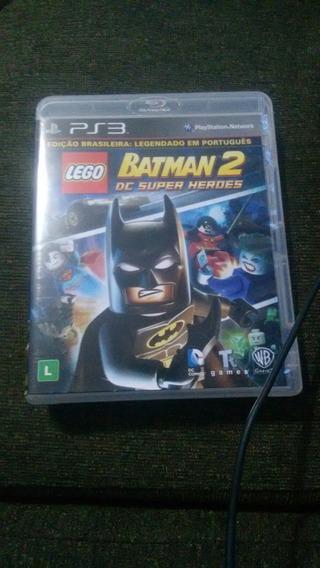 Lego Batman 2 De Super Heróis Usado Ps3 Português