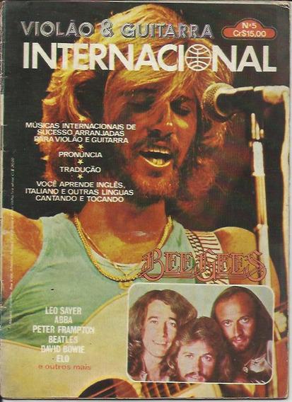 Revista Violão & Guitarra Nº 05 - Internacional - Com Poster