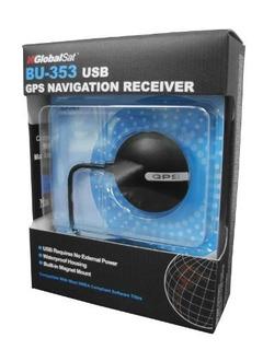 Receptor Gps Globalsat Bu-353 Usb Gps P/ Laptop Tablet Hm4