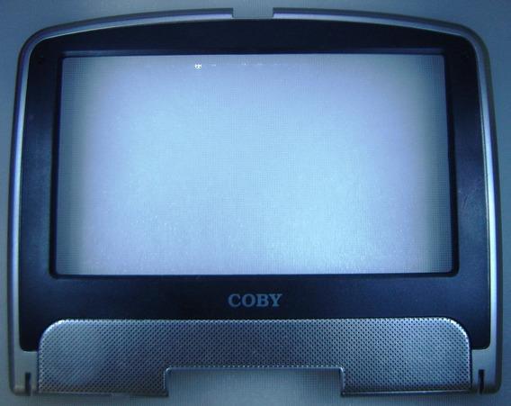 Coby Tf-dvd7500 - Moldura Do Lcd Prata Com Detalhe Preto