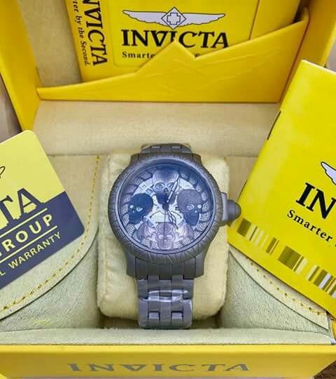 Relógio Invicta Artst Skull (caveira Originais)