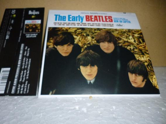 Cd Beatles - The Early Beatles 2014 Tipo Minivinil Nacional