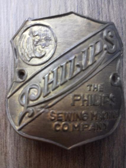 Plaqueta De Máquina De Costura Philips