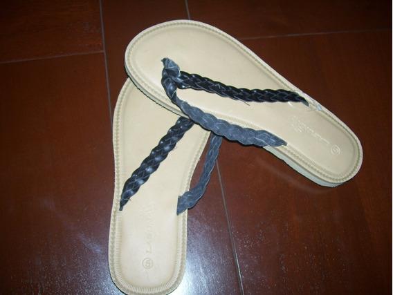 Sandalias Tipo Ojotas De Niña