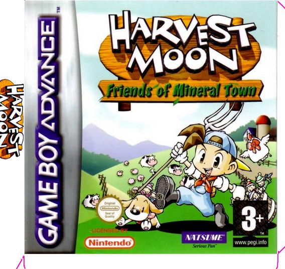 Harvest Moon Gba - Games no Mercado Livre Brasil