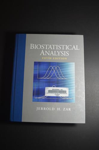 Livro Biostatistical Analysis, Zar, Jerrold H, Fifth Edition