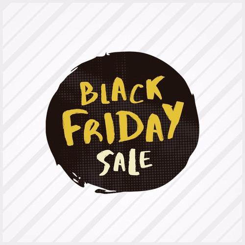 Adesivo Para Vitrine Black Friday Sale + Aplicador Grátis
