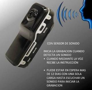 Camara Espia Activa Por Voz Grabadora Video Y Sonido