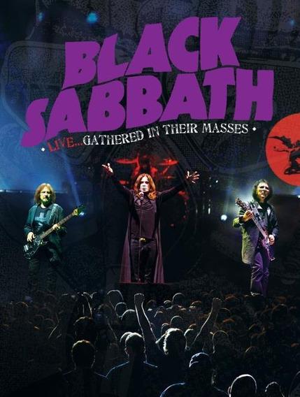 Black Sabbath - Live Gathered In Their Masses Dvd + Cd Novo