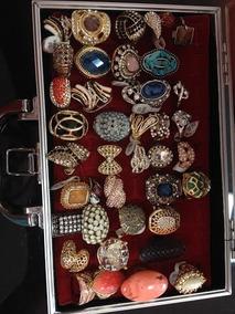 Lote De Aneis (bijuterias) 700,00 40 Unidades - Novo