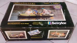 Bote Sevylor Fish Hunter Hf 250 + 2 Remos Casi Nuevo