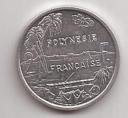 Polinesia Francesa Moneda De 2 Francos Año 2009 !!!