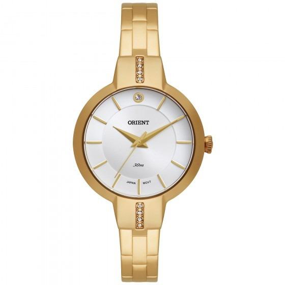 Relógio Orient Fgss0044 S1kx Feminino Dourado - Refinado