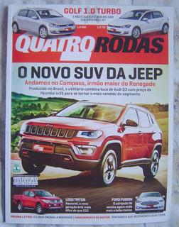 Revista 4 Rodas Especial - Edição 687 - O Novo Suv Da Jeep.