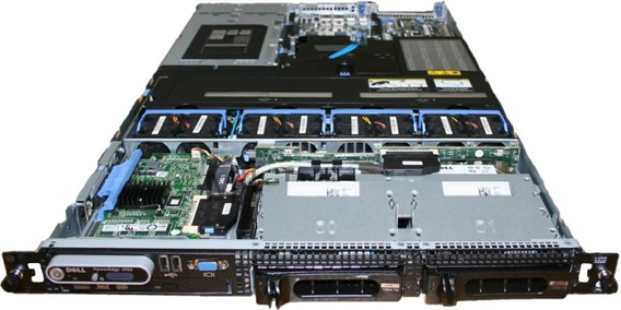 Servidor Dell 1950 2 Xeon Quad Core E5410 - 16gb 1 Terabyte