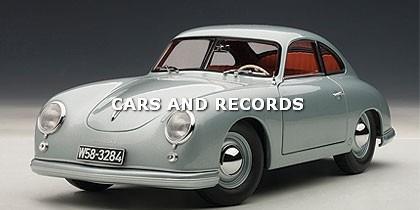 Porsche 356 Coupe 1950 - Clasico Aleman - Autoart 1/18