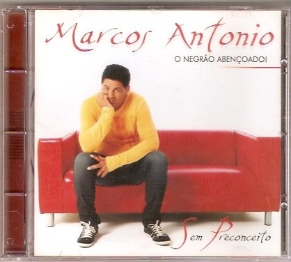 Cd Marcos Antonio - Sem Preconceito - Novo***