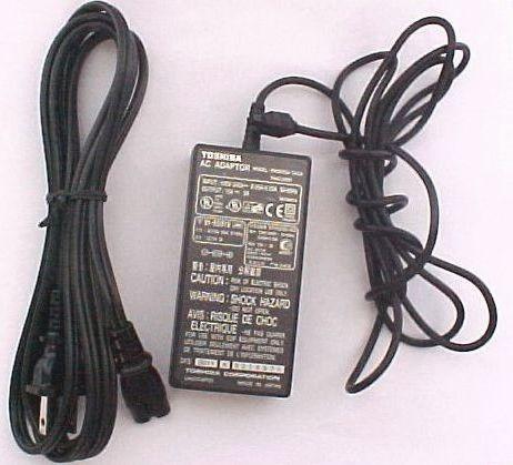 Carregador Toshiba Pa-3035u 15 Volts 3 Ah
