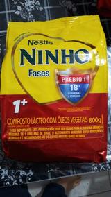 Leite Ninho Fases 1+ 800g Kit Com 6 Unidades
