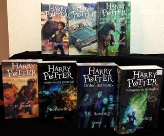 Harry Potter Jk Rowling Saga Completa 7 Libros
