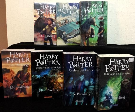 7 Libros Harry Potter Jk Rowling Saga Completa Envio Gratis