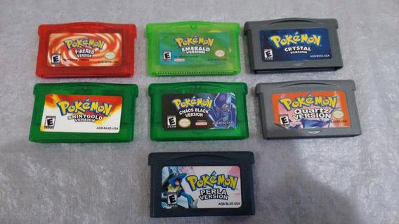Combo De Jogos Pokemon Para Advance Mais Brinde
