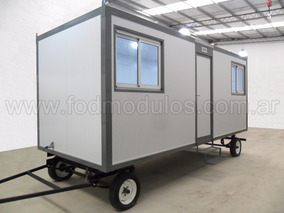 Modulos Habitables Casilla Rural Trailer Oficina Movil