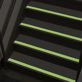 Fita Adesiva Anti Derrapante Fluorescente Rampa Escada