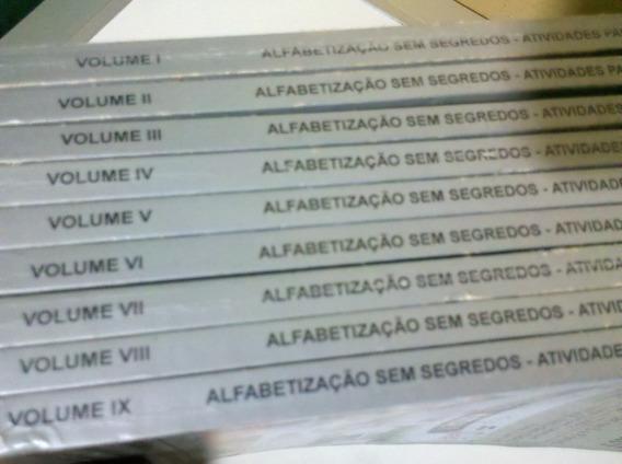 Alfabetização Sem Segredos.9 Volumes. Crianças De 5 A 6 Anos