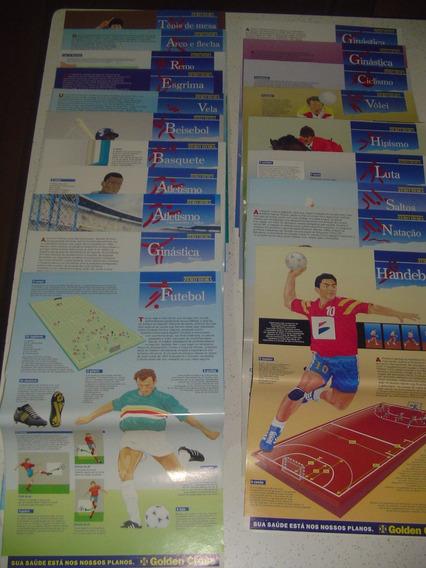 Posteres Modalidades Olimpiadas Olimpicos Zero Hora Frete