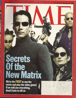 Time: Keanu Reeves / Carrie Ann Moss / Matrix / Javier Barde