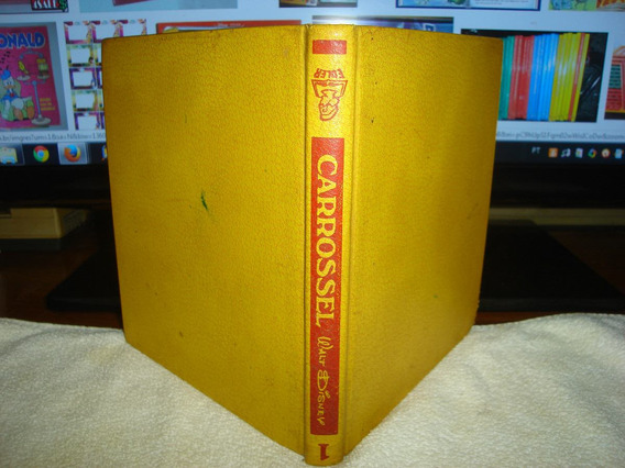 Coleção Carrossel Walt Disney 3 Livros De 1968 R$ 149,00