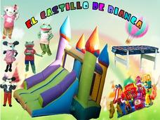 Alquiler De Castillos Inflables-plazas Blandas - Zona Oeste