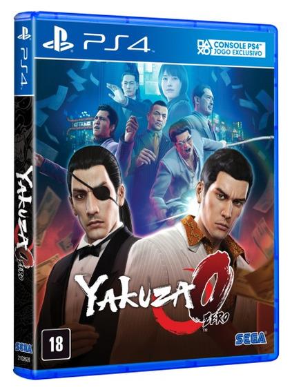 Jogo Mídia Física Yakuza 0 Zero Original Playstation 4 Ps4