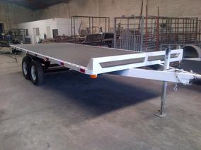 Remolque Cama Alta Camiones Plataforma Maquinaria Ver 18