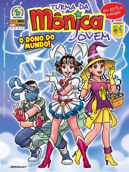 Revista Turma Da Mônica Jovem 13