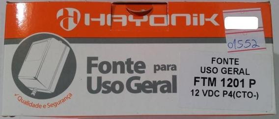 Fonte Hayonik 12vdc 1a Mesa Ftm 1201p