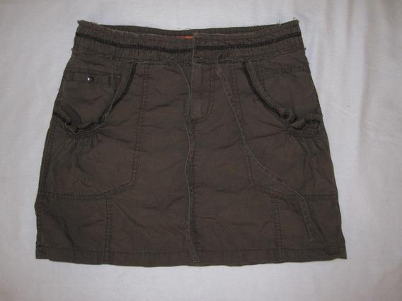 Minifalda Caqui Talla Chica