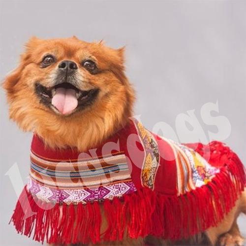 Imagen 1 de 6 de Poncho Andino Para Perro M