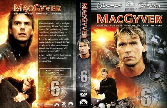 Macgyver- A Coleção Dublada Com Caixinhas E Encartes